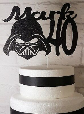 Swell Personalised Star Wars Cake Topper 6Th 8Th 10Th 13Th 40Th Etc Ebay Funny Birthday Cards Online Bapapcheapnameinfo