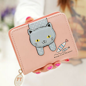 DV-KF-Cartoon-Cat-Faux-Leather-Multiple-Wallets-Girl-Card-Cash-Holder-Coin-Pur