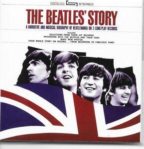 THE-BEATLES-Story-fridge-magnet-3-034-square-free-UK-P-amp-P