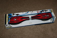 THE WAVE HI-TIDE  WHEELED CASTER RIPSTICK RED AND BLACK STREET SURFING RIPSTIK