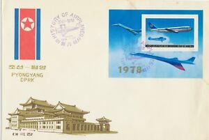 KOREA-1978-Verkehrsflugzeuge-mit-Lufthansa-Airbus-A-300-B2-a-FDC-selten