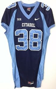 premium selection ac276 ed9e2 Details about Citadel Football Game Jersey Worn Used Various Sizes /  Numbers See Description