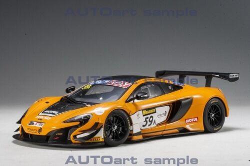 Autoart 81643-1//18 mclaren 650s gt3 Bathurst 12hrs winner 2016