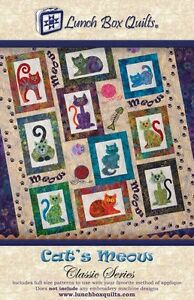 CATS MEOW CLASSIC SERIES QUILTING PATTERN ONLY, Fun Applique Quilt ... : cats meow quilt pattern - Adamdwight.com