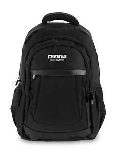 Ordinateur Backpack Sac à Dos de Voyage Business Laptop Hommes Affaire Noir