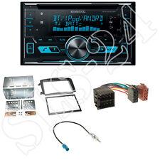 Kenwood DPX5000BT 2-DIN CD Radio+Mercedes C-Klasse W203 Blende+Antenne Adapter