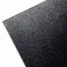 "ABS Plastic Sheet Black Vacuum Forming 1/8"" Thick 6"" x 12"" *"