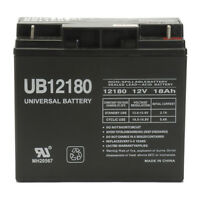 Upg 12v 18ah Sla Battery Replaces Lcx1220p Hr2212 Np18-12b Ps-12180 Bp17-12 on sale