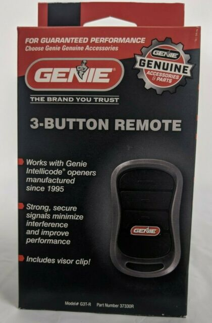 Replacement 3-Button Overhead Door Transmitter