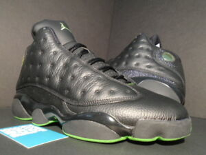7f937ad93 2005 NIKE AIR JORDAN XIII 13 RETRO BLACK ALTITUDE GREEN BRED CAT ...