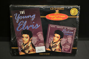 Elvis-Presley-The-Young-Elvis-CD-amp-Video-New-Sealed-Box-Set