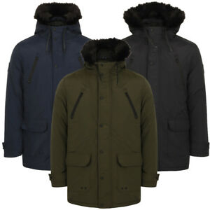 New Mens Tokyo Laundry Hammersmith Branded Lined Hooded Parka Jacket Size S-XL Clothes, Shoes & Accessories