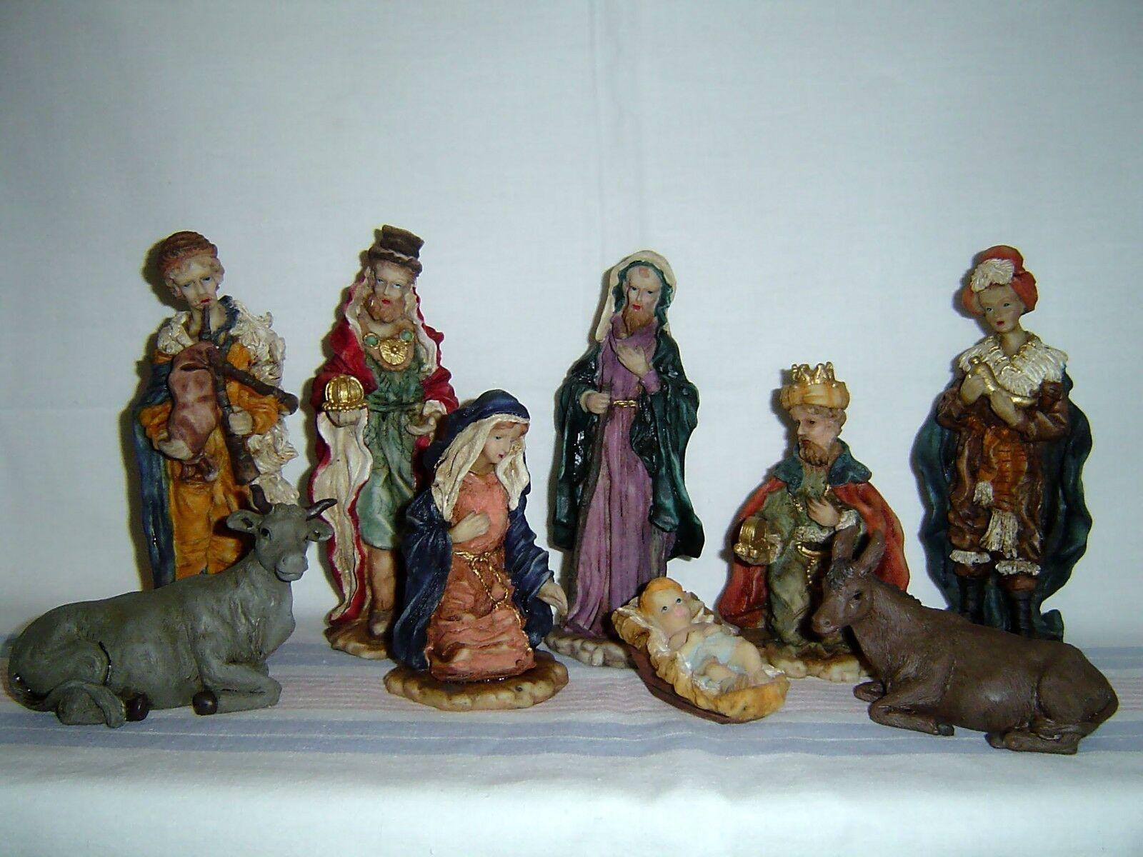 9 teilige Polystone Krippe Figuren Satz Christi Geburt Krippenfiguren 15cm 15cm 15cm 63006   Um Zuerst Unter ähnlichen Produkten Rang  ecc8e4