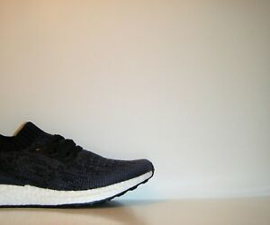 reputable site e6282 84d29 Image is loading NIB-Adidas-Ultra-Boost-Uncaged-Navy-Blue-White-