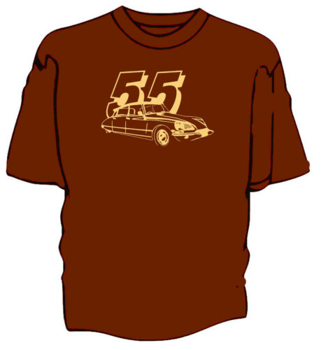 Citroen DS classic car retro style t-shirt