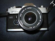 Canon FTB QL + Objectifs 28, 50, 135, 400mm + doubler