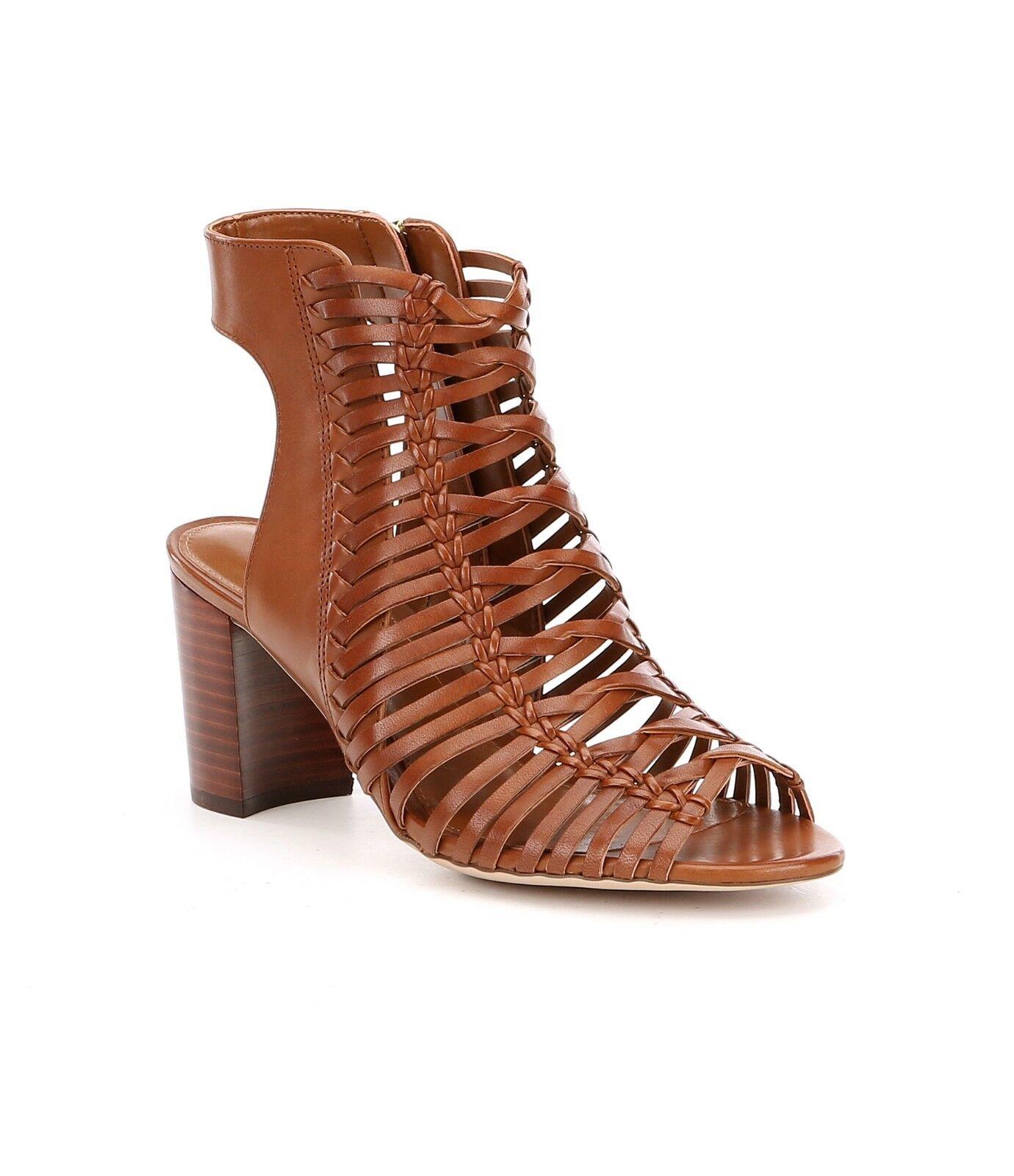 Lauren Ralph Lauren Hali donna Dimensione 8B  Woven Tan Block Heel Sandals New  consegna lampo