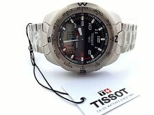 Tissot T Touch Expert Titanium T013.420.44.202.00 Compass Men's Watch MSRP $1175