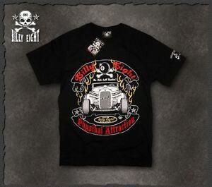 Mens-rockabilly-greaser-psychobilly-biker-punk-Billy-Eight-034-Physikal-034-T-shirt