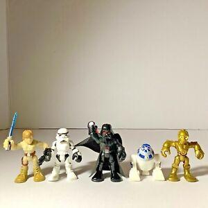 Lot Of 5 pcs Star Wars 2011 LFL Hasbro Mini Figure
