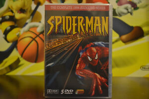 Spider-Man-1994-Animated-Cartoon-TV-Series-Complete-DVD-Set