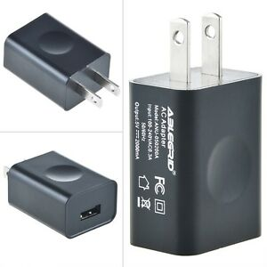 US-Plug-5V-2A-USB-Port-Charger-for-GPS-PDA-Recorder-DVR-Camera-LED-Power-Cord