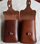 Men Waist Bag Fanny Pack Cow Leather purse Pouch wallet Customize brown red z211