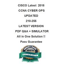 Cisco CCNA Cyber Ops Exam Dump for 210-255 SECOPS Q&A  Test PDF & Sim