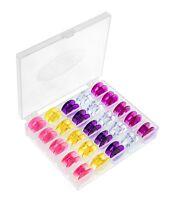 25 Spulen Mit Spulenbox Für Pfaff Expression Nähmaschine