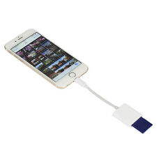 Lightning to SD Card Camera Reader For iPhone 5s/6/6s/6Plus IPad Samsung LG HTC