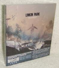 LINKIN PARK RECHARGED 2013 Taiwan CD w/BOX