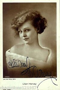 +Autogramme+ ++Film-Legende++3 Lilian Harvey