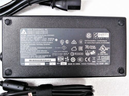 Original OEM Delta 230W 19.5V AC Adapter Charger ASUS ROG STRIX GL702VS-RS71 6mm
