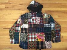 NEW SUPREME PATCHWORK ANORAK SIZE LARGE FW16J38 DEADSTOCK