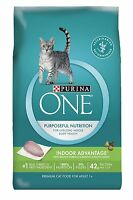 Purina One Indoor Advantage Dry Cat Food 100% Nutrition Real Turkey
