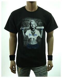37c991ca05b Details about Graphic T-Shirt Marilyn Monroe Los Angeles LA Fashion Casual  Hip Hop Urban Tee
