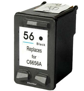 NO-OEM-recambio-para-HP-56-Deskjet-5550-5552-Cartucho-de-Tinta-Negra