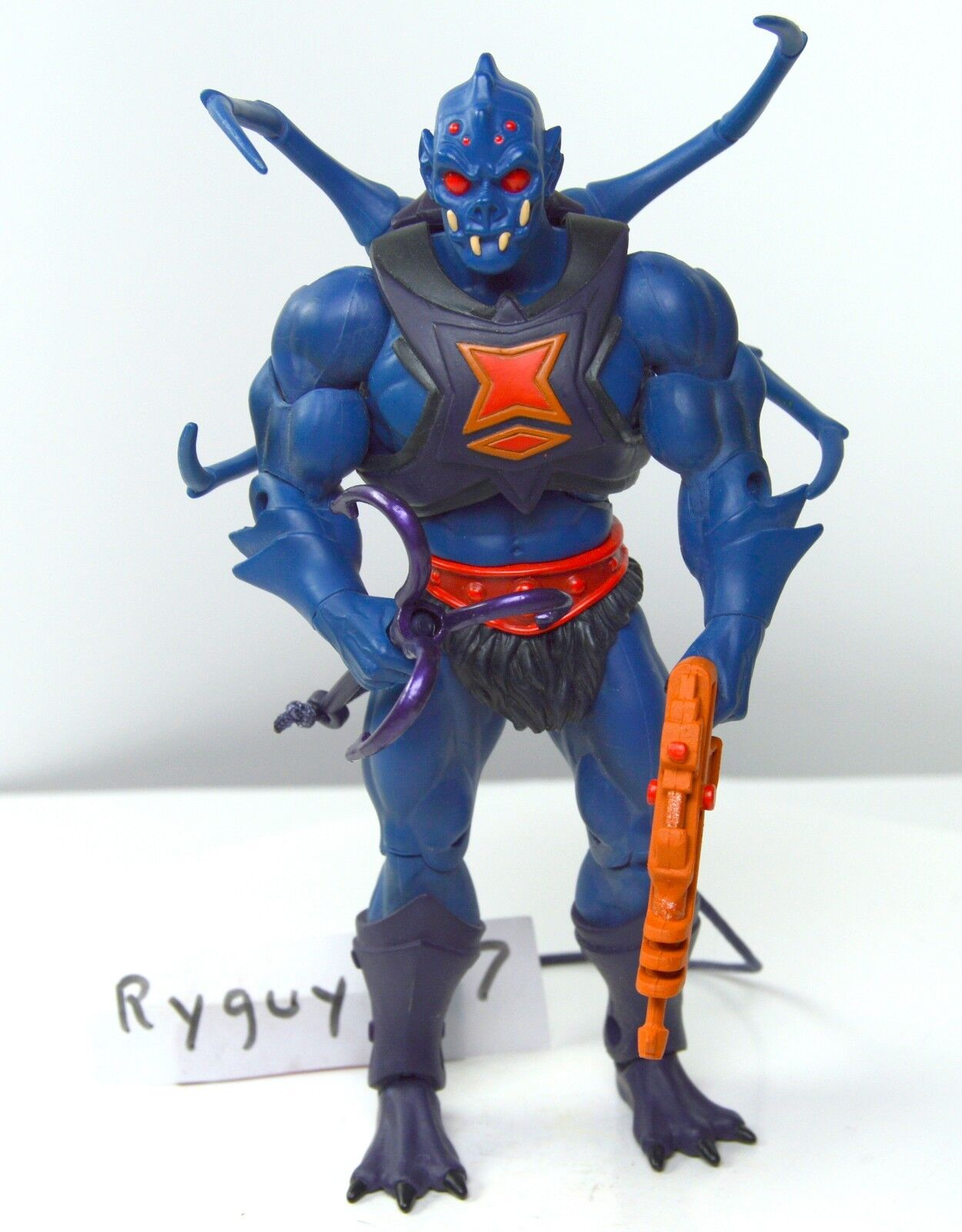 MOTUC, Webstor,  complete, figure, Masters of the Universe Classics He-Man, hook  pas cher