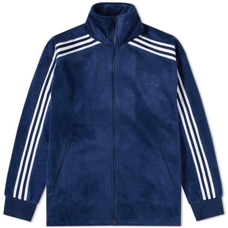 Adidas Originals Adicolor Beckenbauer Velour Track Top Jacket Size Size Jacket Medium 577819