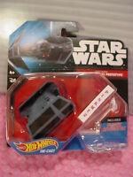 2015 Star Wars Darth Vader's Tie Advanced X1 Prototype✰w/navigator✰hot Wheels