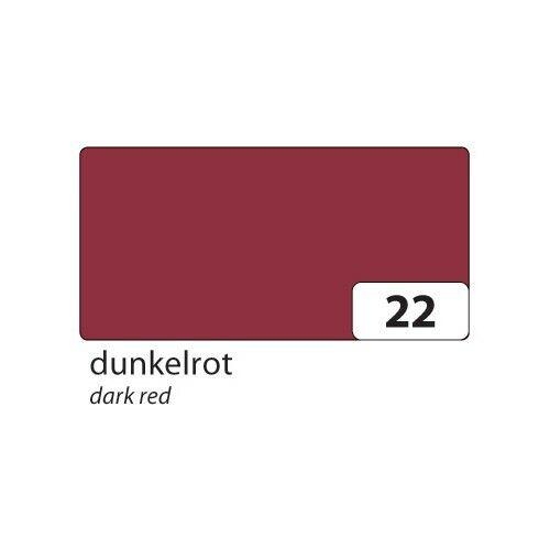 50x70cm dunkelrot folia 6722 Tonpapier 130g//m² 10 Bogen