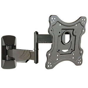 Slim-TV-Wall-Bracket-Tilt-Swivel-Corner-Mount-200-VESA-23-28-32-42-inch-KMA28222