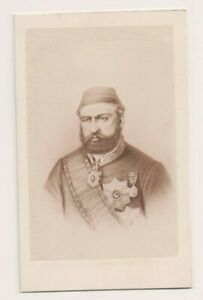 Vintage-CDV-Isma-039-il-Pasha-Khedive-of-Egypt-and-Sudan