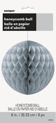 """Hanging ball en nid d/'abeille Mariage et Partie Décoration-Jaune 8 /"""" 20.32 cm"""