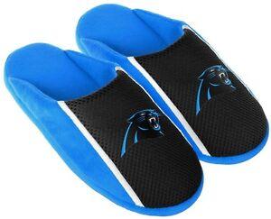 Carolina-Panthers-NFL-Mens-Jersey-Slide-Slipper-Adult-Sizes
