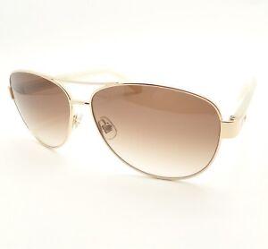 2016120f98c Kate Spade Dalia 2 J5GB1 Gold Ivory Brown Fade New Sunglasses ...