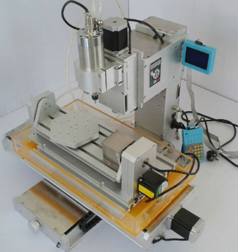 1500W 5 Axis 3040 CNC Engraving Machine Table Column Ball Screw Router Table