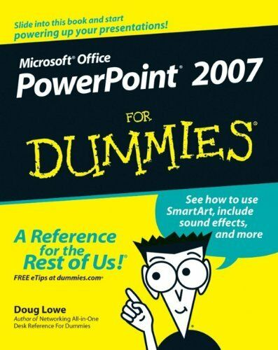 PowerPoint 2007 For Dummies,Doug Lowe