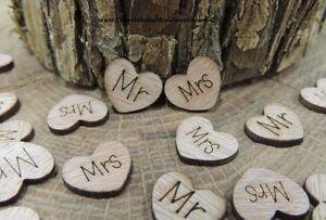 100-Mr-and-Mrs-wood-hearts-rustic-wedding-venue-decor-confetti-invitation-USA