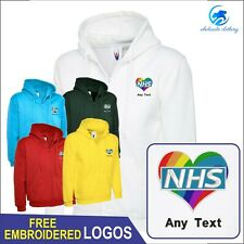 LAND ROVER ZIP HOODED SWEATSHIRT GD58 Small up to 5XL*